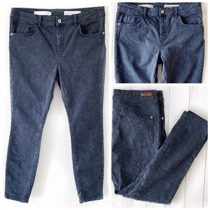 PILCRO & THE LETTERPRESS HIGH RISE SKINNY JEANS 32